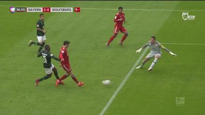 ¡Gol de récord! Lewandowski anota el 2-0 ante el Wolsfburg y rompe una marca