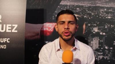 Yahir 'Pantera' Rodríguez agradecido con la UFC