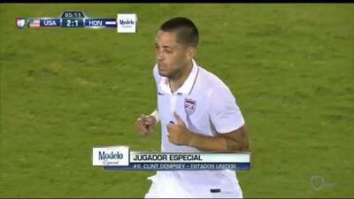 MLS en Copa Oro: Clint Dempsey brilló en el arranque del torneo contra Honduras
