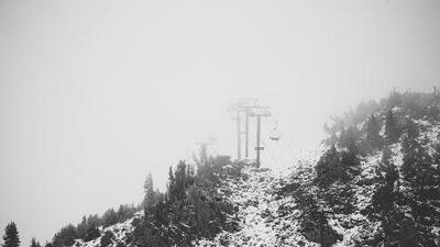 Aunque la temporada de esquí arranca en noviembre, este hotel de California ya parece un paraíso invernal en verano