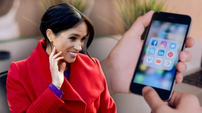 Antes de conocer al príncipe Harry, Meghan Markle intercambió mensajes privados con un cantante