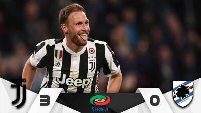 Juventus venció 3-0 a Sampdoria y mantiene dominio en Italia tras eliminación de Champions