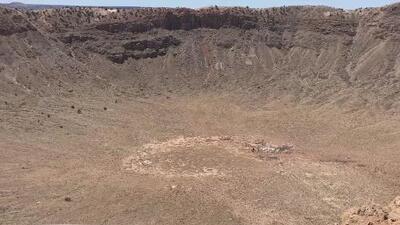 Explorando Arizona: conoce el sitio de impacto de un meteorito mejor preservado del mundo
