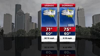 Calor, cielos nublados y humedad: así luce el pronóstico del tiempo para este fin de semana