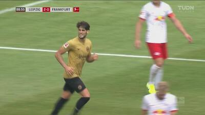 ¡Final frenético! Gonçalo Paciência logra el descuento para el Eintracht Frankfurt