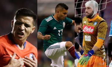 Ausentes por obligación: las bajas en las selecciones para los próximos amistosos FIFA