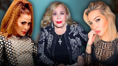 """""""No son niñas"""": a Silvia Pinal no le importa el pleito entre Alejandra Guzmán y Frida Sofía"""