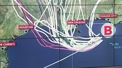 Las zonas que puede afectar el sistema que se fortalece en el Golfo de México y tiene posibilidades de ser tormenta
