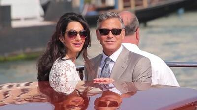¿Amal y George Clooney esperan a su primer hijo?