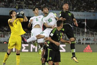 México debuta con empate en el Mundial Sub 17