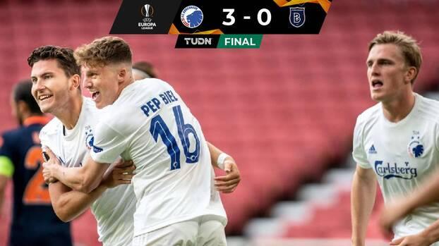 FC Copenhague goleó al Istambul y se metió a Cuartos de Final
