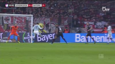 Cabezazo perfecto de Goretzka y el Bayern pone el 0-1 el marcador