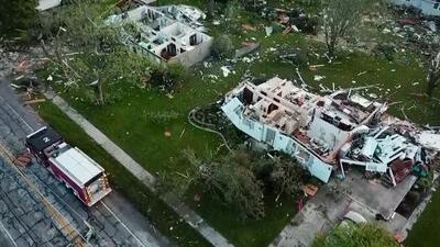 En un minuto: 5 millones de personas sin luz por tornados y siguen las alertas por inundaciones