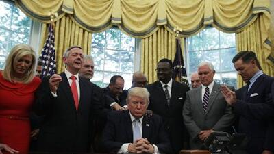 Evangelical Leaders supported by the White House export fundamentalist agenda to Latin America