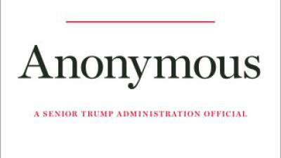 Regresa 'Anónimo', el funcionario incógnito de la Casa Blanca, para alertar del peligro de reelegir a Trump
