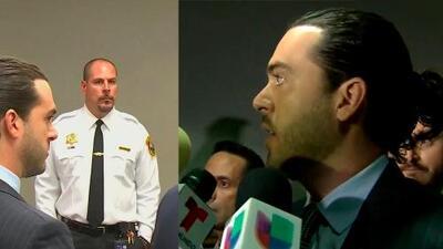Primeras declaraciones de Pablo Lyle después de su arresto en Miami