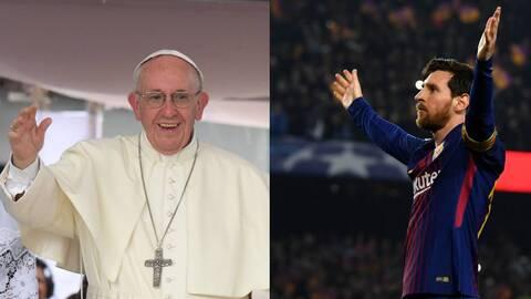 ¿Messi es Dios? Esta es la respuesta del papa Francisco a tan singular pregunta