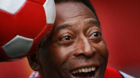 ¡Pelé está mejor! O Rey bromeó y envió un mensaje que tranquiliza a los fans