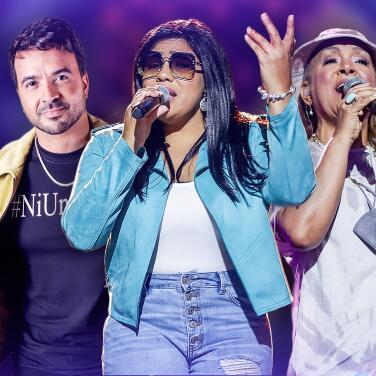 Luis Fonsi, Milly Quezada, Alexandra Cabrera y más ensayaron para Latin GRAMMY Celebra Ellas y su Música