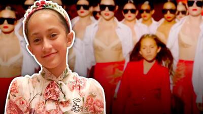 Así ha crecido Emme Muñiz, la pequeña estrella que opacó a JLo en el video de 'Limitless'