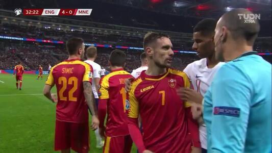 Inglaterra vs. Montenegro