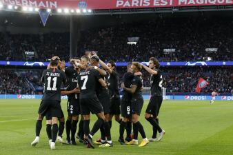 En fotos: el dominio y paliza de PSG contra Estrella Roja en la Champions League