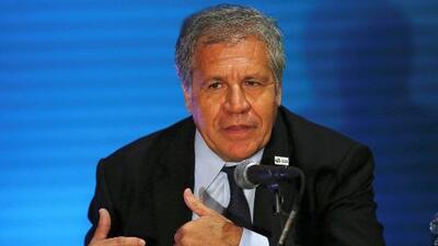 """Secretario General de la OEA: """"Ni Leopoldo López está libre, ni Venezuela está libre"""""""