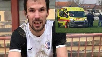 Luto en el fútbol: fallece jugador croata en pleno partido