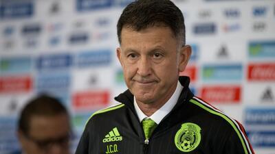 Osorio dio a conocer la lista de 32 convocados para los próximos partidos del Tri