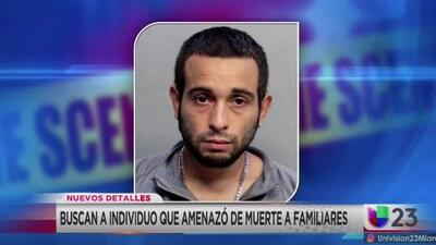 Policía de Hialeah continúa buscando a un hombre armado y peligroso que amenazó de muerte a sus familiares