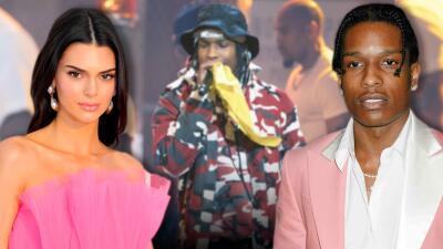 A$AP Rocky (el rapero estadounidense liberado en Suecia) se reencuentra con un viejo amor: Kendall Jenner