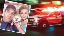Emir Pabón y su esposa sufren grave accidente automovilístico en Houston, Texas