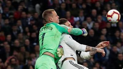 Sergio Ramos será baja por sanción en el Real Madrid en La Liga y Champions League