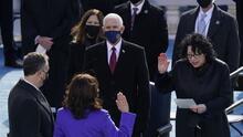 Sonia Sotomayor: la jueza latina del Bronx que tomó juramento a Kamala Harris como vicepresidenta