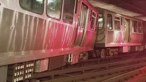 Descarrilamiento de un tren de la CTA deja un herido y provoca la cancelación del servicio en la línea sur