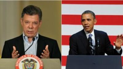 Obama y Santos inician reunión en la Casa Blanca
