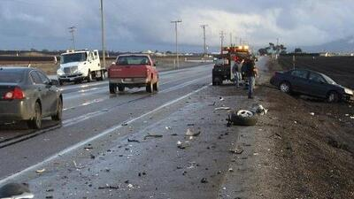 CHP: 21 muertos en accidentes de tránsito y casi 1,000 detenidos por DUI este fin de semana