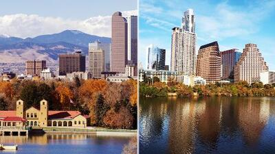 Estas son las cinco mejores ciudades para vivir en los Estados Unidos