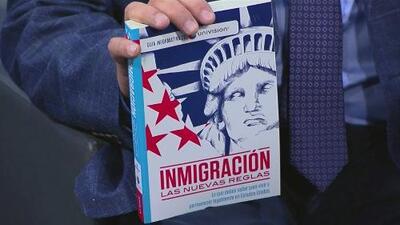 'Inmigración, las nuevas reglas': Una guía para aprender a vivir legalmente en Estados Unidos