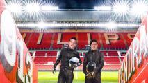 PSV revela identidad de Daft Punk… ¡son el Chucky y Guti!
