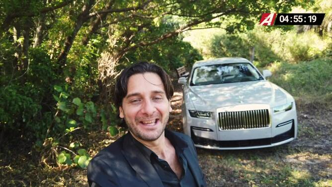 5 Minutos A Bordo del Rolls-Royce Ghost 2021 | Univision A Bordo