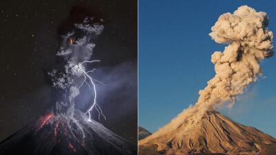 En fotos: los gritos de fuego del volcán de Colima que nunca deja de tener actividad