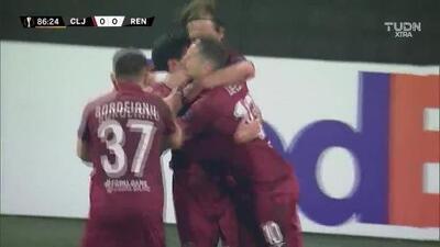 ¡GOOOL! Mario Rondón anota para CFR Cluj
