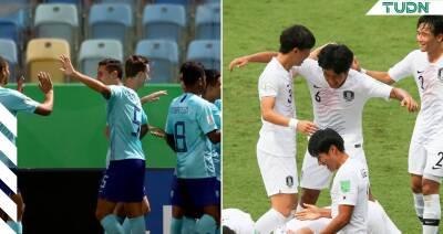 Holanda y Corea del Sur avanzan a Cuartos de Final en el Mundial Sub 17