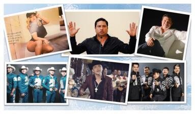 Libros, series, viajes y hasta calendarios, estos son los planes de los cantantes de regional mexicano para 2018