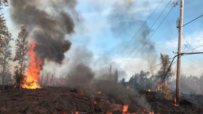 """""""Tuvimos 5 minutos para empacar y salir"""", cuenta uno de los evacuados en Hawaii tras la erupción del volcán"""