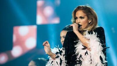 Jennifer Lopez celebrates the big 5-0 with fans in San Antonio