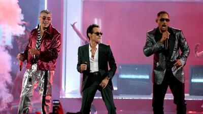 En fotos: así fue el espectacular opening de Marc Anthony, Bad Bunny y Will Smith en Latin GRAMMY