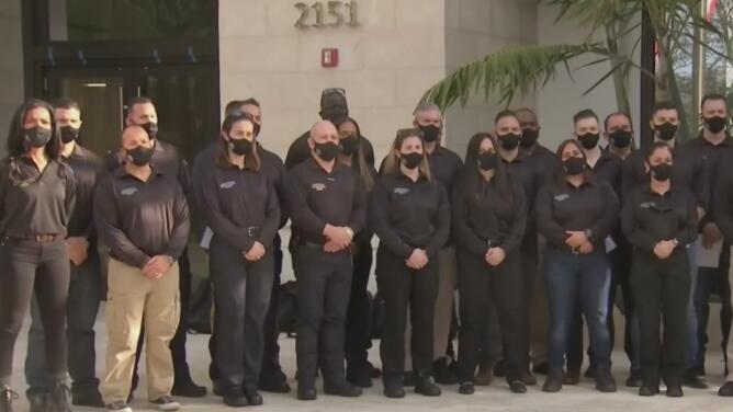 Policías de Coral Gables reforzarán los operativos de seguridad en Washington DC durante posesión de Joe Biden