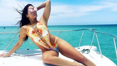 Comprobado: en un yate, las chicas de Nuestra Belleza Latina se ven aún más bellas